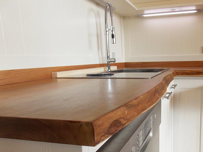 Piano Cucina In Legno Lamellare : Piano cucina in legno lamellare top cucina legno lamellare